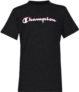 Champion Kids Crewneck T-Shirt, Anthracite
