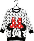 Disney Minnie Maus Bow Collegepullover, Weiß