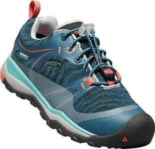 KEEN Terradorra Low WP Sneakers, Aqua Sea/Coral