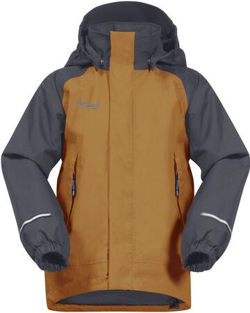 Bergans Storm Insulated Jacke, Desert/Solid Grey