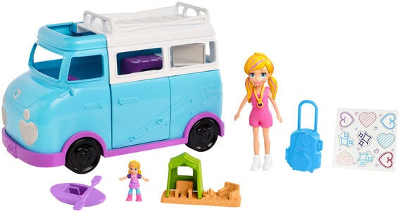 Polly Pocket Auto Glamping Van