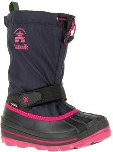 Kamik Waterbug8g Stiefel GORE-TEX, Navy/Rose
