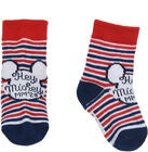 Disney Mickey Maus Socken, Gestreift