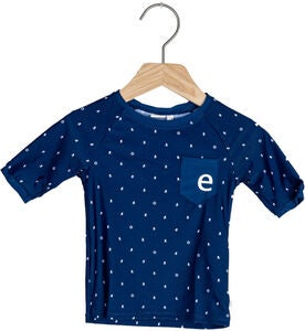 Ebbe Tebert UV-Shirt, Mini Boats Dark Navy