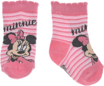 Disney Minnie Maus Socken, Gestreift