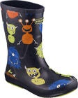 Viking Classic Indie Monsters Gummistiefel, Navy/Lime