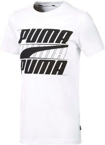 Puma Rebel Bold T-Shirt, White