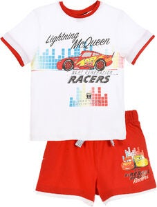Disney Cars T-Shirt & Shorts, Weiß