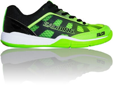 Salming Falco JR Turnschuh, Fluo Green