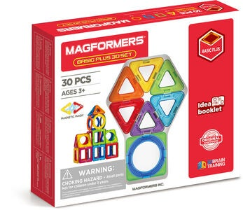 Magformers Bausatz Basic Plus 30