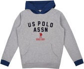 U.S. Polo Assn. American Team OTH Hoodie, Vintage Grey Heather