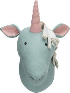 KidsDepot Einhornkopf Unicorn, Light Blue