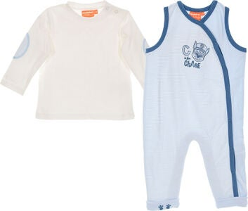 Paw Patrol Langarmshirt & Jumpsuit, Light Blue