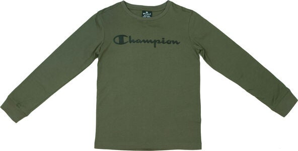 Champion Kids Langärmliges T-Shirt, Winter Moss