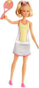 Barbie Puppe Tennis Player
