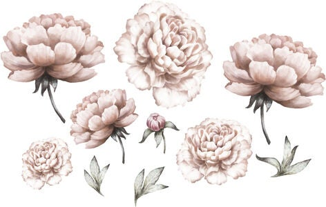 That's Mine Wallsticker Peony Flower