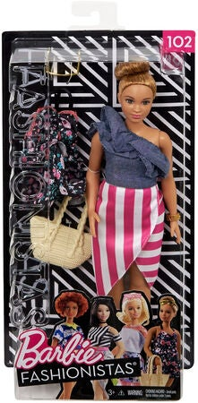 Barbie Fashionistas Puppe 102