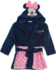 Disney Minnie Maus Set Morgenrock & Hausschuhe, Pink
