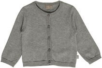 Hust & Claire Claire Cardigan, Light Grey Melange