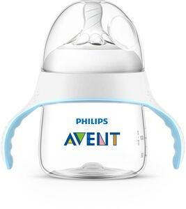 Philips Avent Natural Übungsbecher 150ml, Blau/Weiß