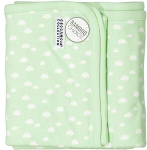 Geggamoja Decke Bamboo, Mint Cloud