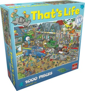 Goliath Games Puzzle That's Life – Train Stat 1000 Teile