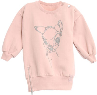 Wheat Bambi Sparkling Pullover, Rose Powder