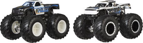 Hot Wheels Monster Trucks Demolition Doubles 1:64 2er-Pack