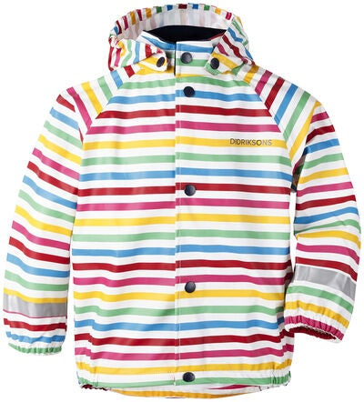 Didriksons Slaskeman Regenanzug, Rainbow Simple Stripe