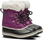 Sorel Youth Pac Nylon Winterstiefel, Wild Iris/Dark Plum