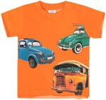 Hust & Claire Ask T-Shirt S/S, Hot Orange