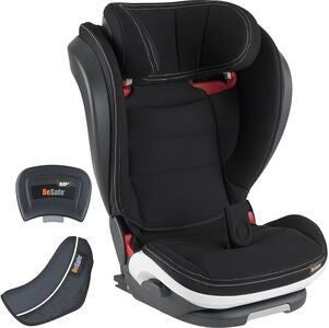 BeSafe iZi Flex Fix i-Size Kindersitz, Black Car Interior