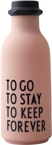 Design Letters To Go Wasserflasche Special Edition, Nude
