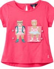 Tom Joule Chomp Interactive T-Shirt, Pink Bears