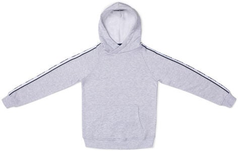 Hyperfied Sharp Hoodie, Grey Melange