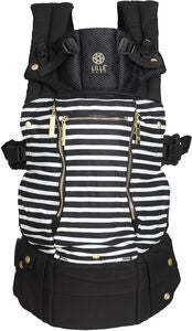 Lillebaby Complete All Seasons Tragetuch Stripes, Black