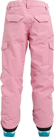 Burton Girls Elite Cargo Thermohose, Sea Pink L