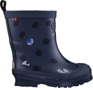 Viking Hidden Animals Gummistiefel, Navy