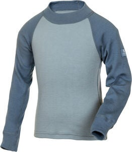 Janus Riddar Pullover Wolle, China Blue