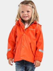 Didriksons Pölen Regenjacke, Tile Orange