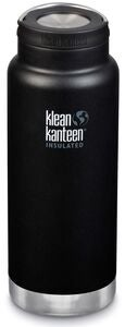 Klean Kanteen TKWide Wide Loop Cap Thermosflasche 946ml, Shale Black