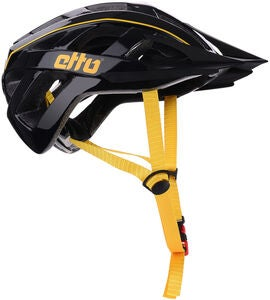 Etto Champery Jr MIPS Fahrradhelm, Black/Yellow
