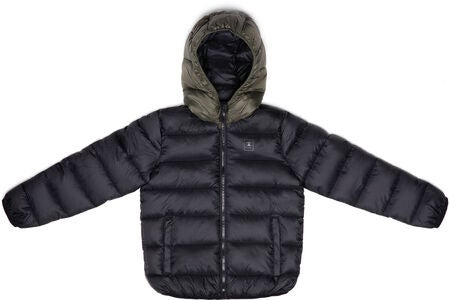 Champion Kids Jacke mit Kapuze, Black Beauty