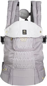 Lillebaby Complete Embossed Luxe Tragetuch, Pewter
