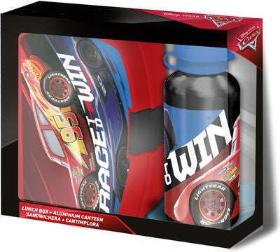 Disney Cars Brotdose & Flasche