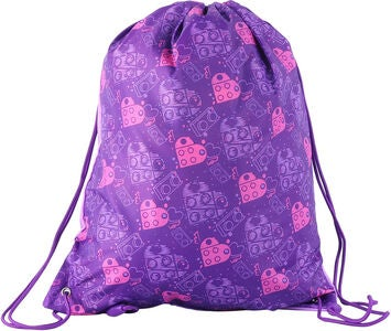 LEGO Friends Sportbeutel Hearts, Purple