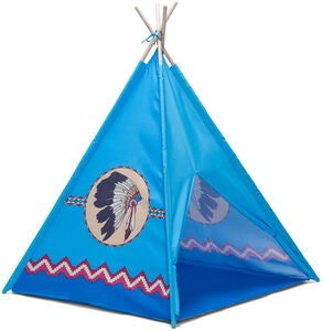 Cloudberry Castle Tipi, Blau