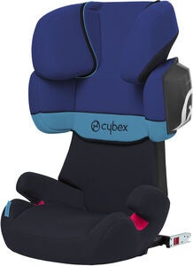 Cybex Solution X2-Fix Kindersitz, Blue Moon