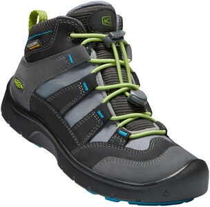 KEEN Hikeport Mid WP Winterstiefel, Magnet/Greenary