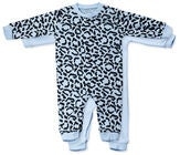 Tiny Treasure Maxime Jumpsuit 2er-Pack, Baby Blue
